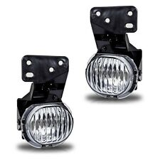 Fit 1997-2003 Chevy Malibu Replacement Fog Lights Pair - Clear