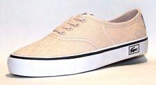 Lacoste Women's Rene Vaul Tstar Casual Sneaker, Peach/Black, Size 6 M US.