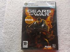 GEARS OF WAR PC DVD-ROM NEW SEALED FAST POST ( action/adventure & shooter game )