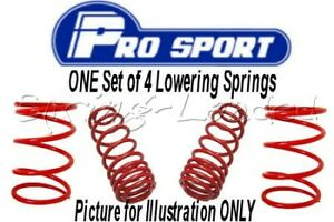 ProSport Lowering Springs 40mm for AUDI A1 Hatch 1.8TFSI 1.4/1.6/2.0TDI 8X 10-On
