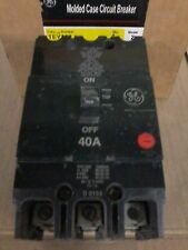 TEY330 GE 3 Pole 40 Amp Molded Case Circuit Breaker