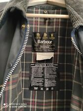 BARBOUR BEDALE JACKET WAXED COTTON BLU GIACCA CERATO XXL C50-127 UK