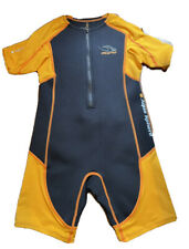 New listing Stingray Aqua Sphere Wetsuit Neoprene Core Warmer Shorty Orange YOUTH Sz 10