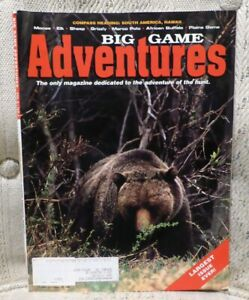 VINTAGE BIG GAME ADVENTURES JUNE/JULY 2002 LARGEST ISSUE EVER