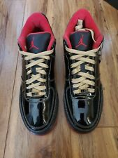 Air Jordan Force III (AJF 3) Premier – Black Patent – Metallic Gold – Varsity...