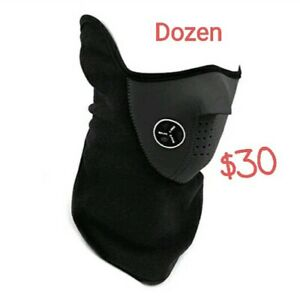 Dozen Wholesale Cycling Wind-Dust proof Ski Facial Protector Outdoor Motorcycle