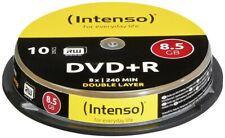 Intenso DVD+R DL 8.5GB 8X 10er Spindel (Rohling)