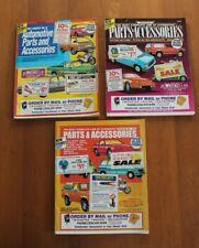 J.C. Whitney Automotive Parts & Accessories Catalogs 1990' - Lot of 3