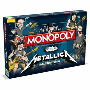 Winning Moves Monopoly Metallica Edition Board Game 25942