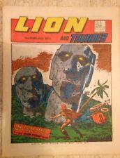 LION AND THUNDER UK COMIC. 3rd February 1973. FREE UK POSTAGE.