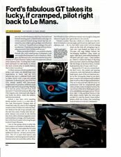 2017 FORD GT 647 HP ~ ORIGINAL 3-PAGE ARTICLE / AD