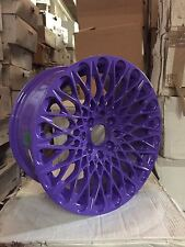 "16"" PURPLE  MESH ALLOY 7.75J FIT FORD FIESTA VW GOLF TOYOTA HONDA BMW  MINI"