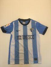Malaga Home Football Shirt Childrens Size Medium 10-12y