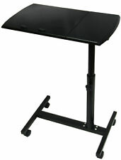 QUALITY WOODEN LAPTOP BLACK COMPUTER FOLDABLE BED TABLE STAND ADJUSTABLE TRAY