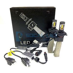 Fanless LED Headlight Kit H4 9003 6000K White Canbus Conversion Hi/Lo H/L Bulbs