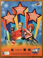 SSX Tricky PS2 Playstation 2 Xbox Gamecube 2002 Vintage Poster Ad Pop Art Print