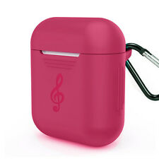 For Apple Airpods Earphones!Colorful Anti-lost Hang Case Cover Full Pouch Skin