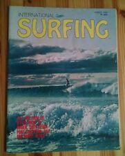 Ultra-Rare INTERNATIONAL SURFING Magazine Aug. 1965 Volume 1, #5 Roger Hulhall