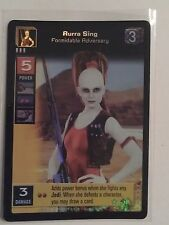 Star Wars Young Jedi ccg M/NM Aurra Sing, Formidable Adversary Reflections Foil