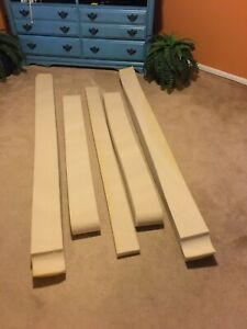 Select Comfort Sleep Number P5 Queen Side Rails Border Foam FREE SHIPPING