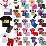 Kids Boys Girls Cartoon Superhero Short Nightwear Sleepwear Pjs Pyjamas Homewear