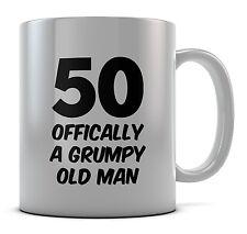 50 sei un uomo Vecchio Scontroso Tazza Regalo Idea Regalo Caffè Tè