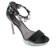 LDN_CALVIN KLEIN Escarpin sandales a talon noir cuir _8.5 us_39_val.134€ -50%