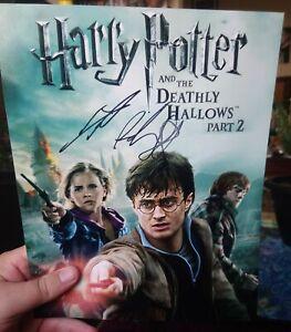 Daniel Radcliffe Harry Potter Signed Autograph Photo Genuine Rare