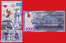 Kasachstan Kasachstan 20000 Tenge 2013 (2015) hybrid pick Neu SC / unc