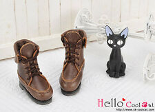 ☆╮Cool Cat╭☆【06-05】Blythe Pullip Doll Short Shoes.Coffee