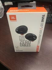 JBL Tune 125 Truly Wireless Ear Buds (Black)