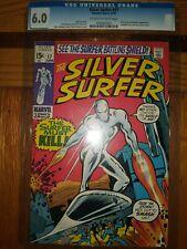 The Silver Surfer #17 CGC 6.0 Unrestored Grade! Marvel Comics 1970