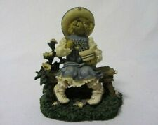 The Boyd'S Bears & Hares Collection Lil' Miss Muffet Whats In Bowl Figurine Mib