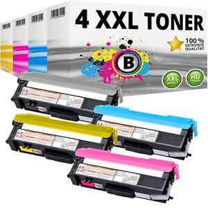4x TONER kompatibel BROTHER L8400CDN L8450CDW HL-L8350CDW L8250CDN MFC-L8650-CDW