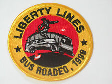 Liberty Lines Bus Rodeo 1999 Transit Patch (#3031) *