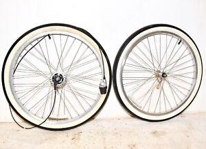 Schwinn Cruiser Bicycle * SHIMANO NEXUS 7 SPEED WHEEL SET Mens Balloon Bike Part