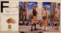 29102 Hasegawa 90´s Platform Boots Girls Figures 2 Mädels 90er Jahre 1:24