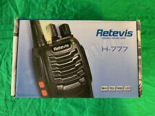 Retevis H777 16 Channel UHF Two-way Radio - Black