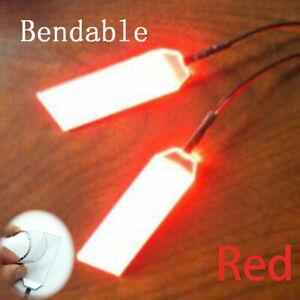 Flexible DIY Bendable LED Light Eyes for Iron Man / Batman Helmet Cosplay Prop