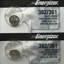 ENERGIZER 362/361 SR721SW SR721W WATCH BATTERIES (2piece) NEW Authorize Seller