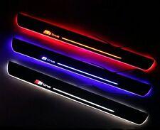 BATTITACCO AUDI Sline A3 A4 A5 A7 A8 A6 A1 B4 B5 B6 Q2 Q3 Q5 Q7 TT LED