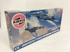 AIRFIX EUROFIGHTER TYPHOON SUPERMARINE SPITFIRE MK11A THEN NOW