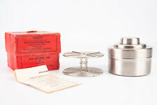 Nikor 35mm Stainless Steel Film Developing Tank with Reel In Original Box V17