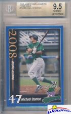 2008 Jamestown Jammers #47 Mike Giancarlo Stanton 1st ROOKIE BGS 9.5 YANKEES !!