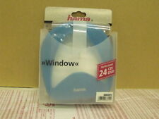 CD DVD  Wallet Holder Case holds 24 disks  - Hama  Window 83815