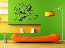 Wall Sticker Vinyl Decal Nursery for Kids Baby Airplane ig1283
