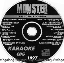 Monster Hits Karaoke CD+G vol-1097/ Charlie Pride,Connie Francis,Hank Williams+