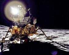 """New 8x10 NASA Photo: Apollo 14 Lunar Module """"Antares"""" on the Moon, 1971"""