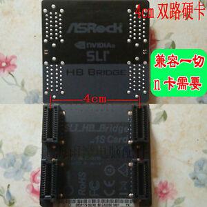 1pcs New SLI HB Bridge 1S HB 40mm 2 Ways For ASRock NVIDIA Graphics Video Card
