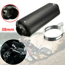 38mm ATV Motorcycle Scooter Bikes Exhaust Pipe Muffler Silencer Slip On Killer